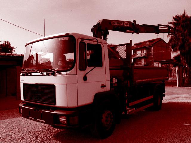 Camiones Basculantes con grúa usados
