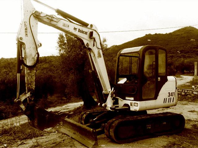 Miniexcavadoras Bobcat usadas.