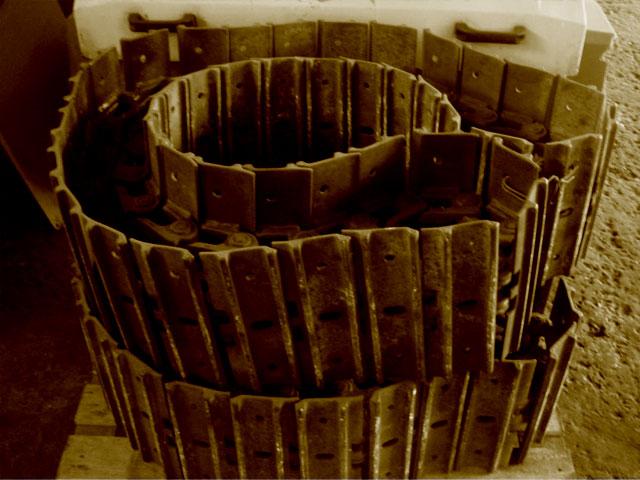 Cadenas de Hierro usadas.