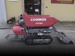 Mini dúmpers y Carretillas a Motor de segunda mano