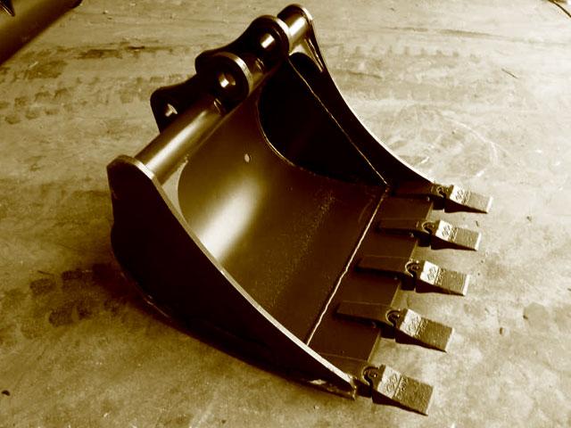 Cucharas Excavadoras usadas.