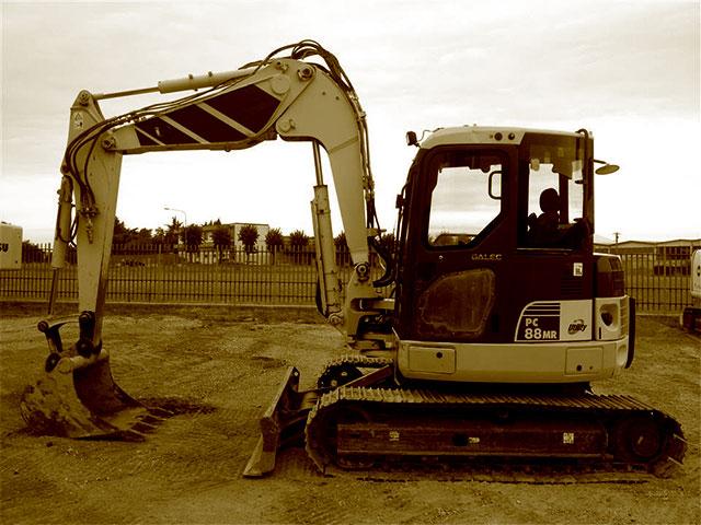 Excavadoras usadas.