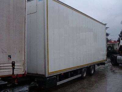 Miele Semirremolque furgón vendida por Ferrara Veicoli