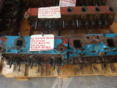 Culata para Fiat 8205.02 vendida por OLM 90 Srl