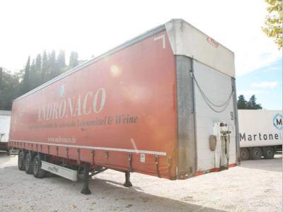 Fliegl Semirremolque con toldo / lona vendida por Bartoli Rimorchi S.p.a.