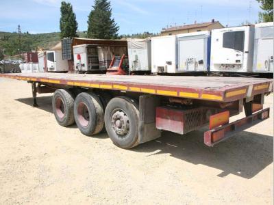 Adige portacontainer vendida por Bartoli Rimorchi S.p.a.