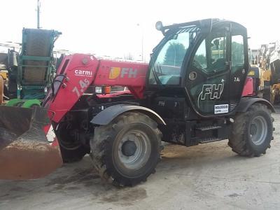 Faresin Handlers 7.45 vendida por Carmi Spa Oleomeccanica