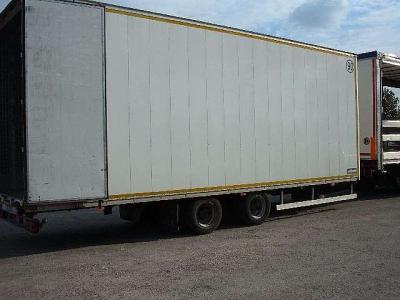 Miele Remolque furgón vendida por Ferrara Veicoli