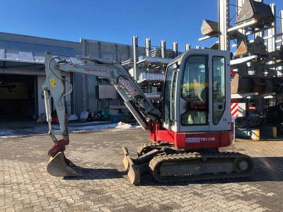 Takeuchi TB138FR vendida por General Car Srl