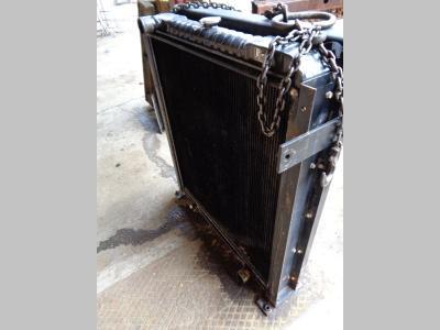 Radiador de agua para Fiat Hitachi Ex 455 vendida por PRV Ricambi Srl